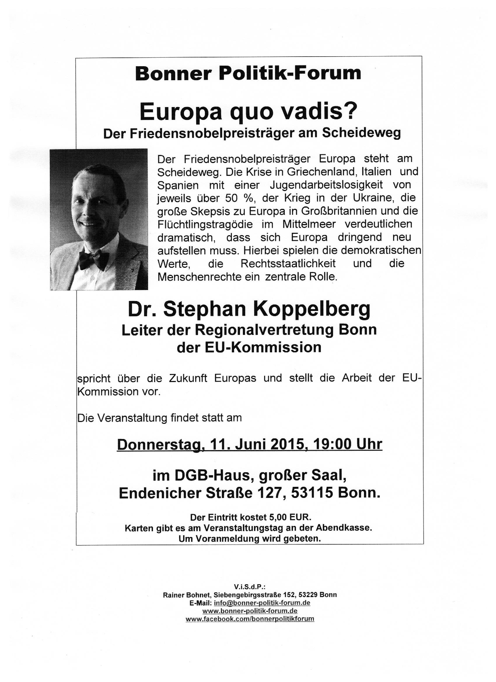 Europa quo vadis
