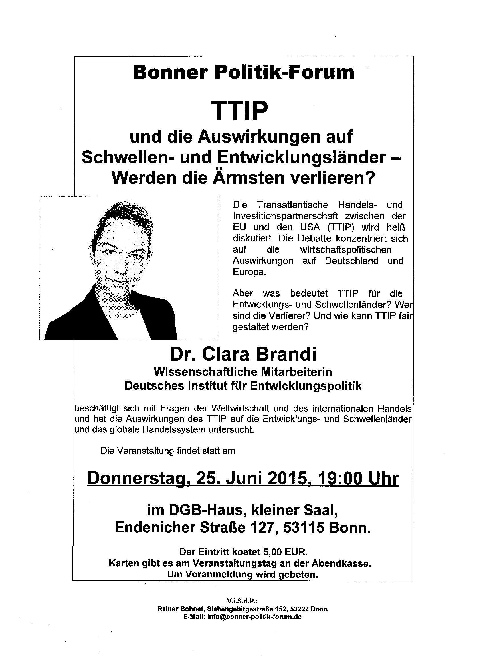 TTIP und Globalisierung