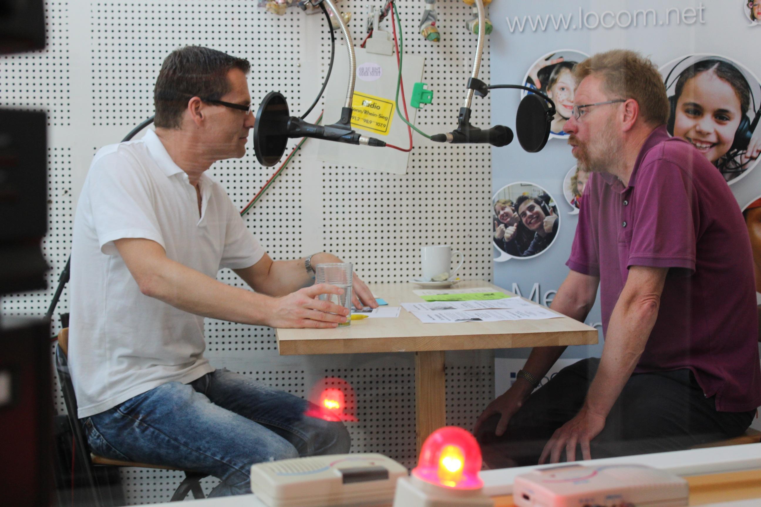 LoComNet-Interview zu den Herbstveranstaltungen. Wird am Montag, 14.09.2015 ab 21:00 Uhr in Radio Bonn/Rhein-Sieg gesendet.