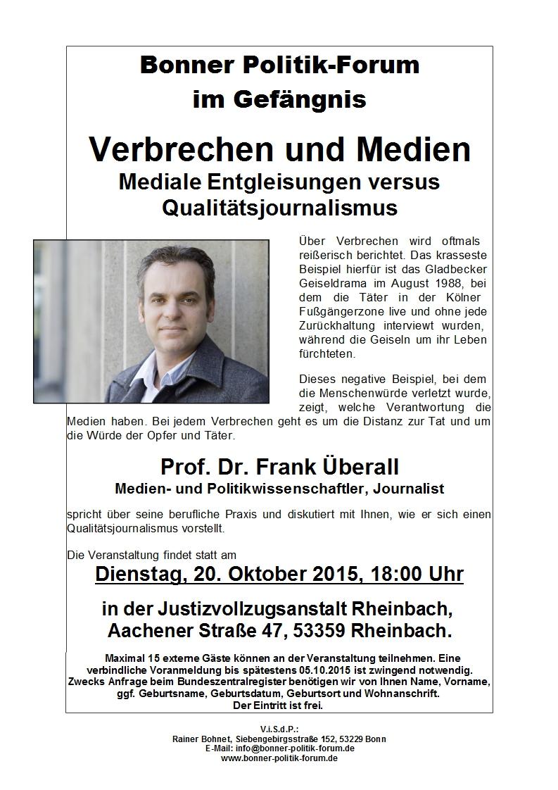 Verbrechen und Medien - Mediale Entgleisungen versus Qualitätsjournalismus